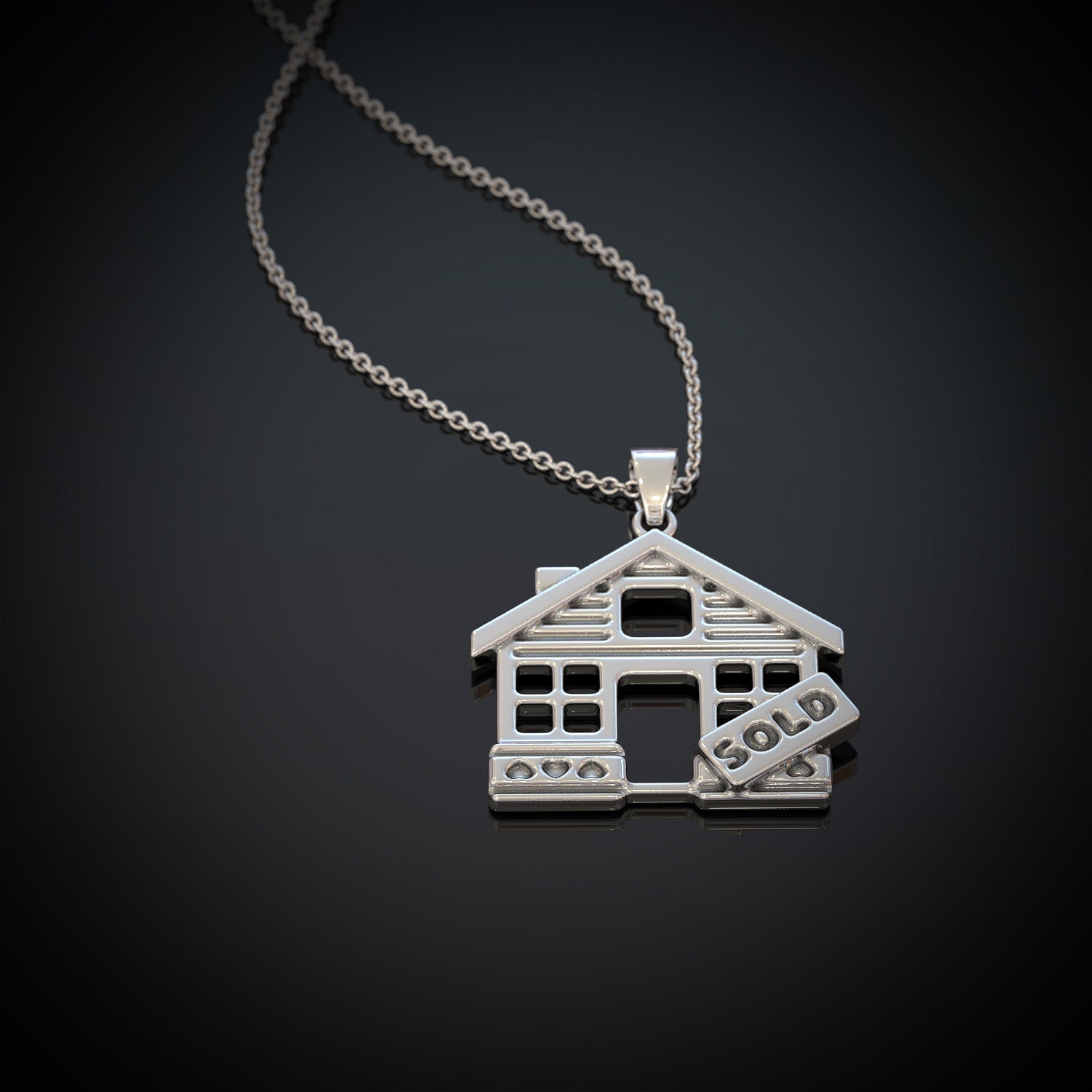 Realtor Pendant Necklace