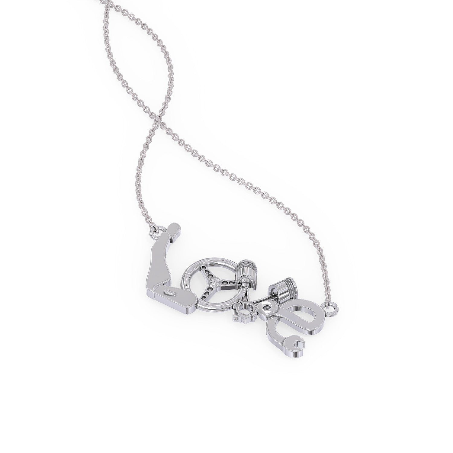 Car Love Necklace