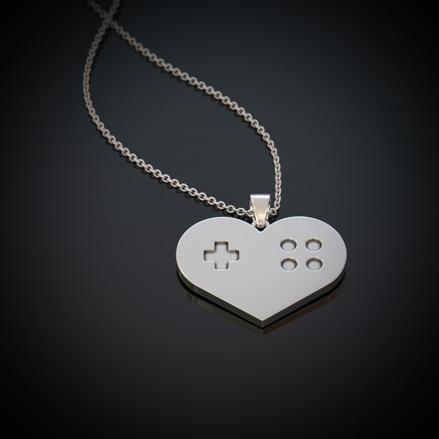 Heart Gaming Necklace