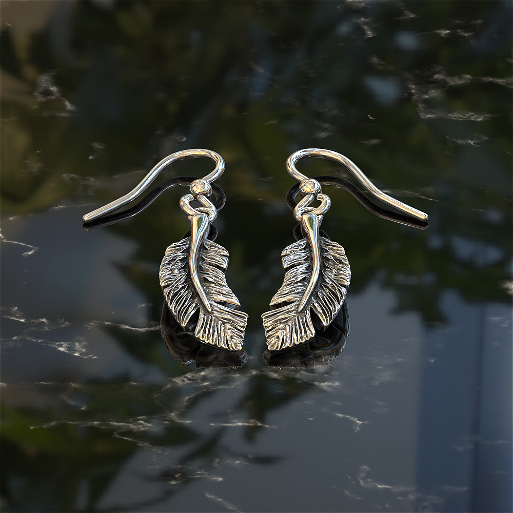 Indian Feather Earrings