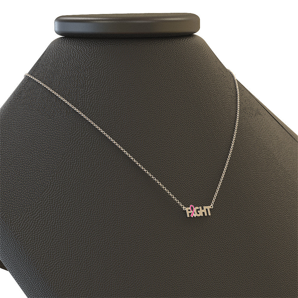 Fight Breast Cancer Necklace