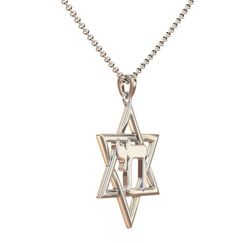 magen plated david women jewelry necklace product hamsa silver wholesale pendant gold hexagram hand