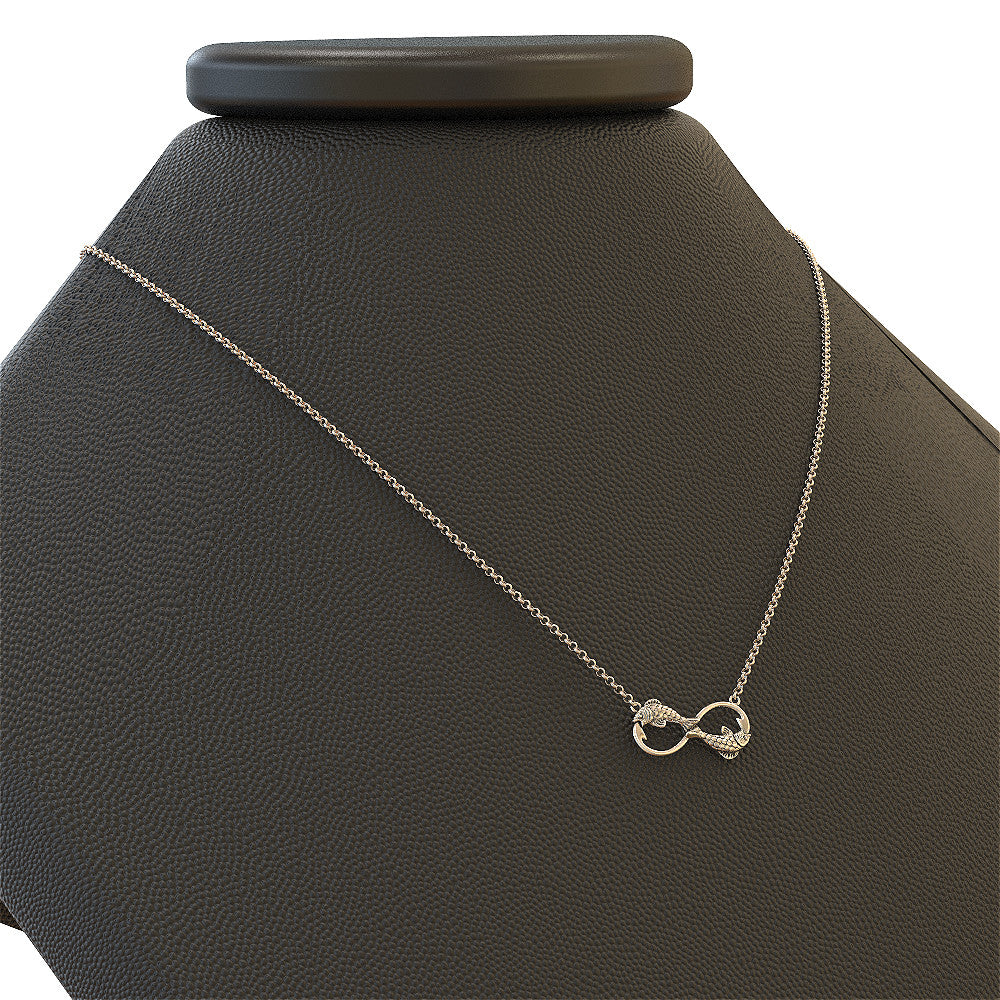 Infinity Fishing Necklace