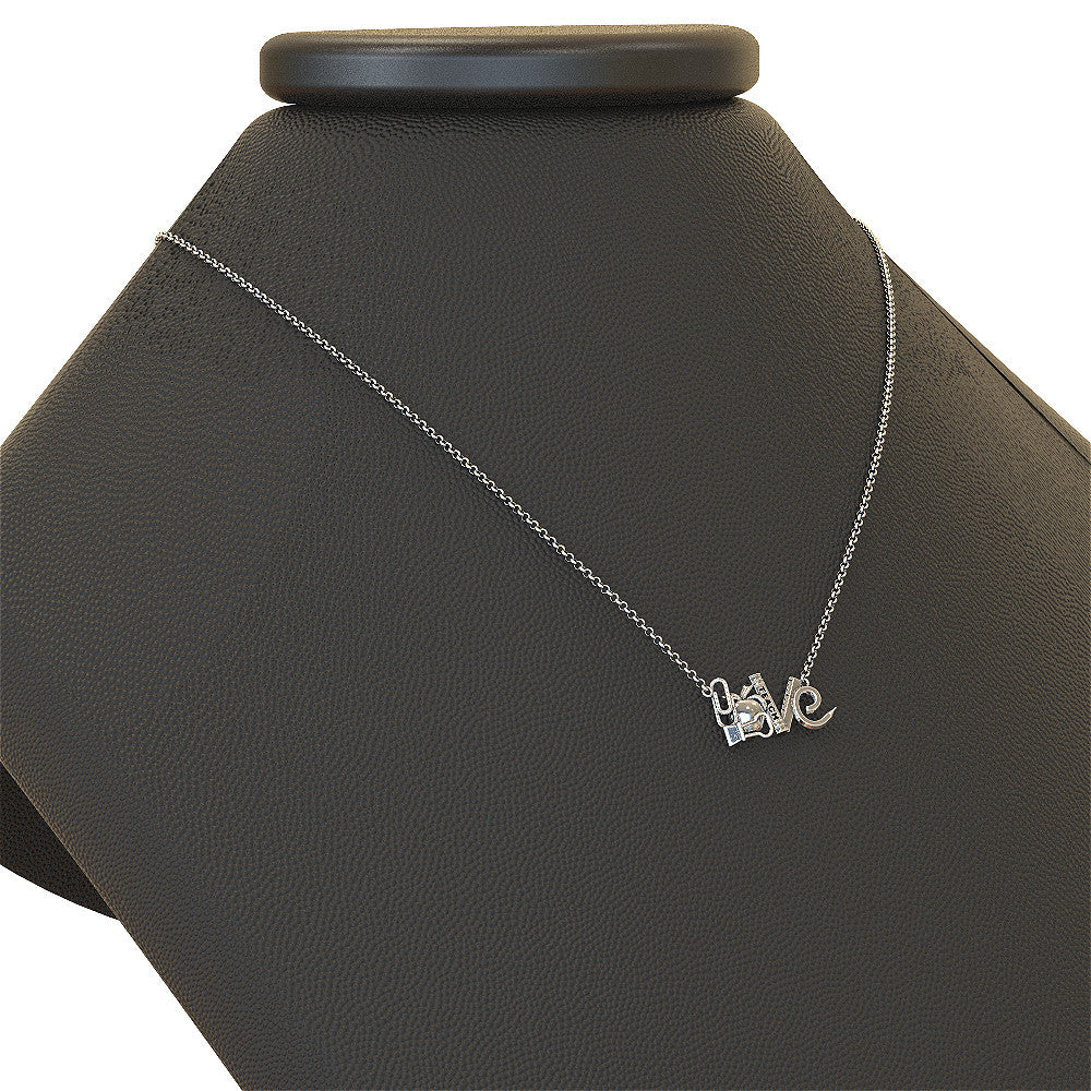 Teacher Love Necklace