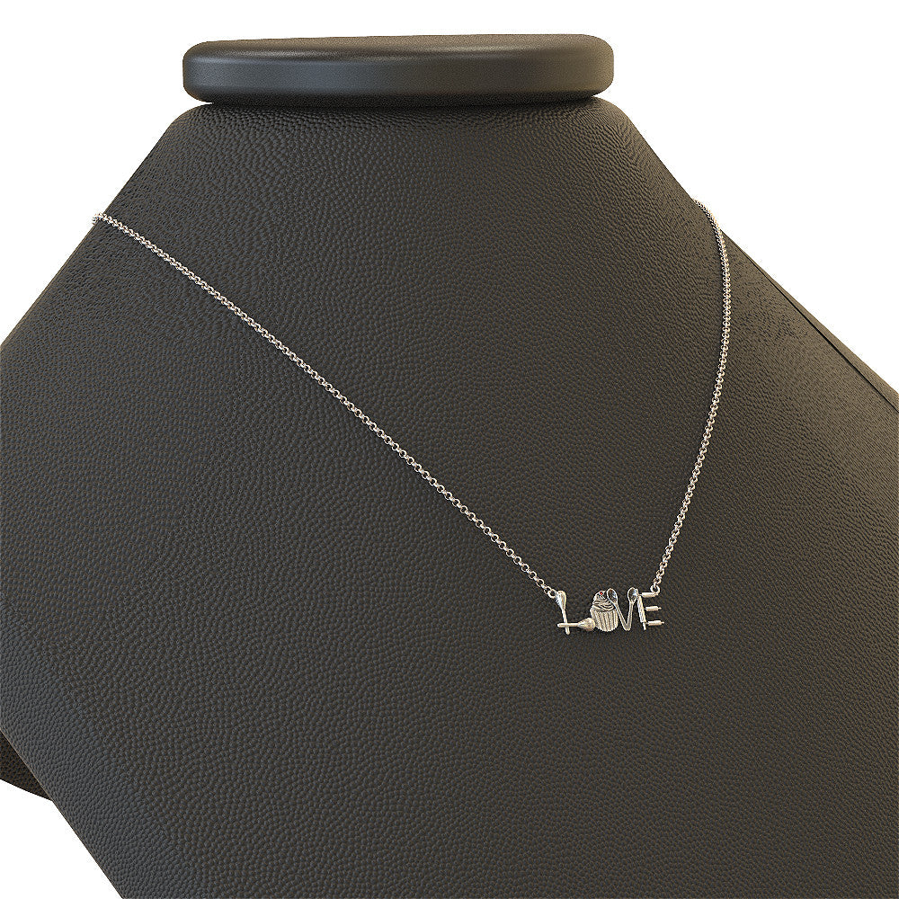 Baker Love Necklace - 925 silver ** Limited Edition **