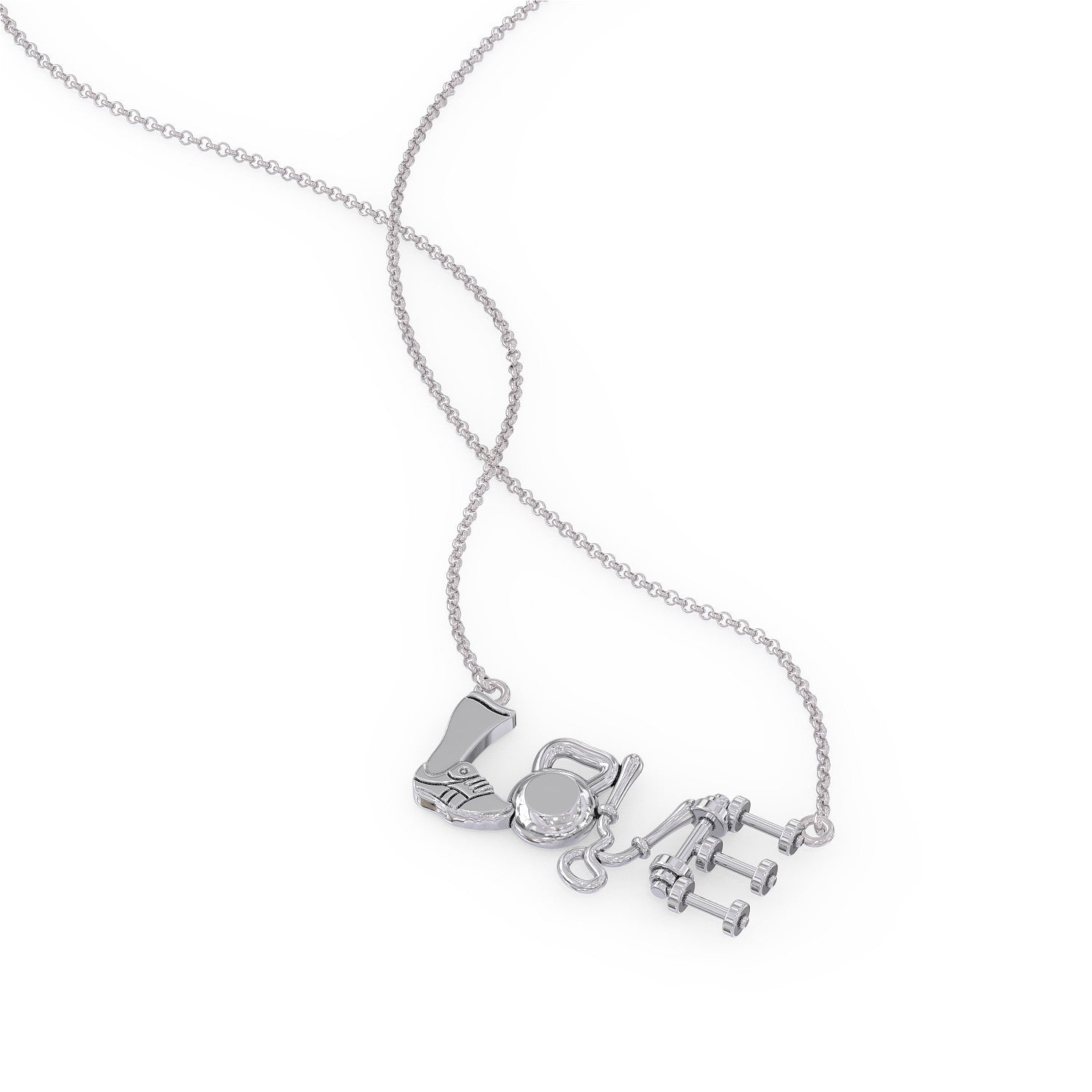 Crossfit Love Necklace