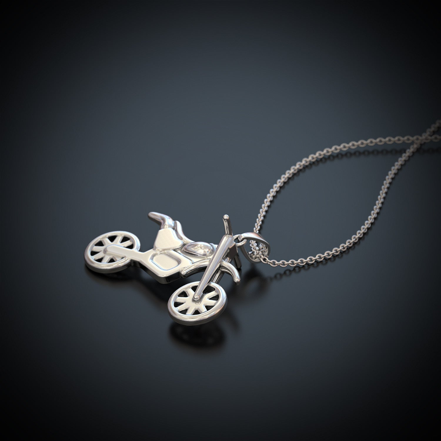 Dirt Bike Necklace - LIMITED EDITION
