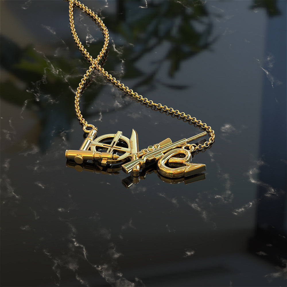 Love Hunting Pendant