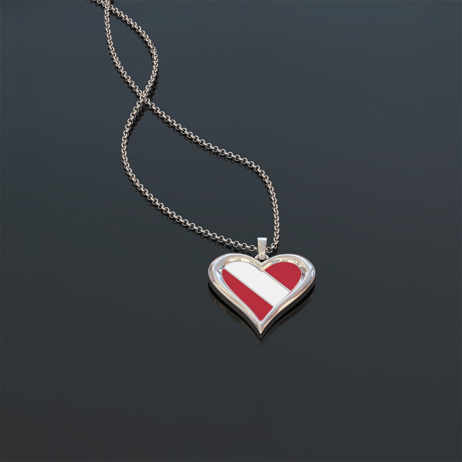 Diving In My Heart Necklace