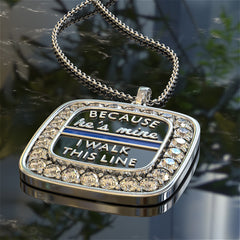 Because He's Mine, I Walk This Line Pendant
