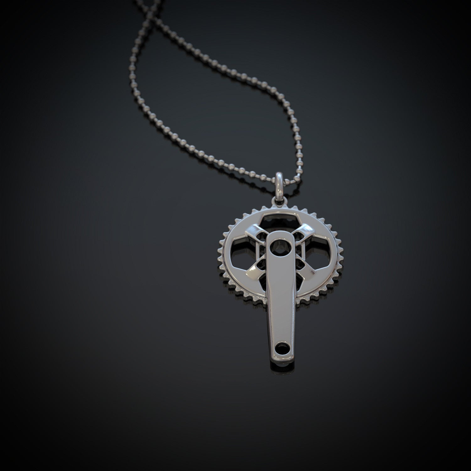 BMX Crank Set Necklace - LIMITED EDITION