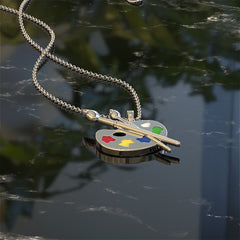 Artists Pallet Necklace - STRICTLY LIMITED EDITION