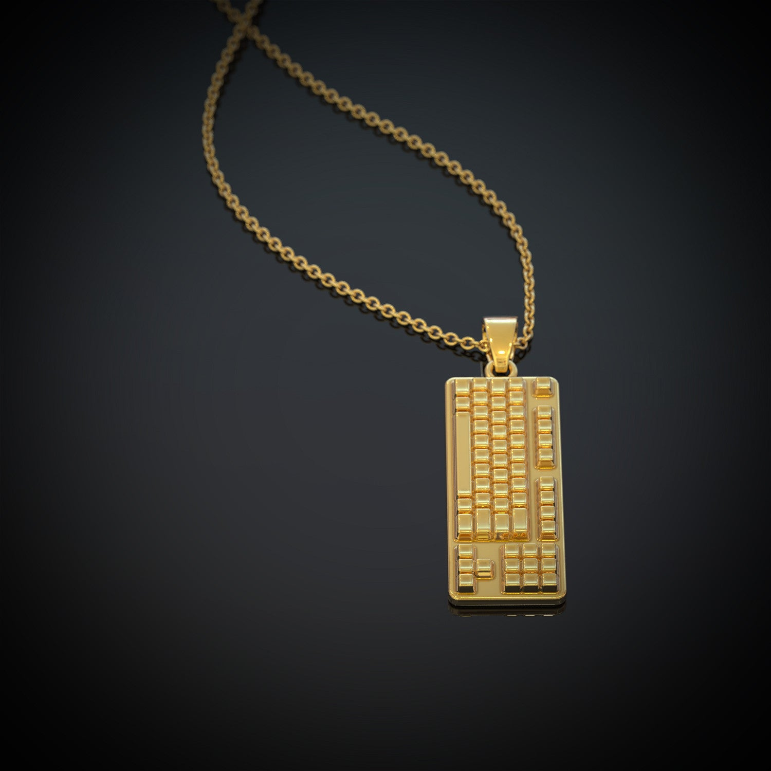 Keyboard - Necklace - strictly limited edition