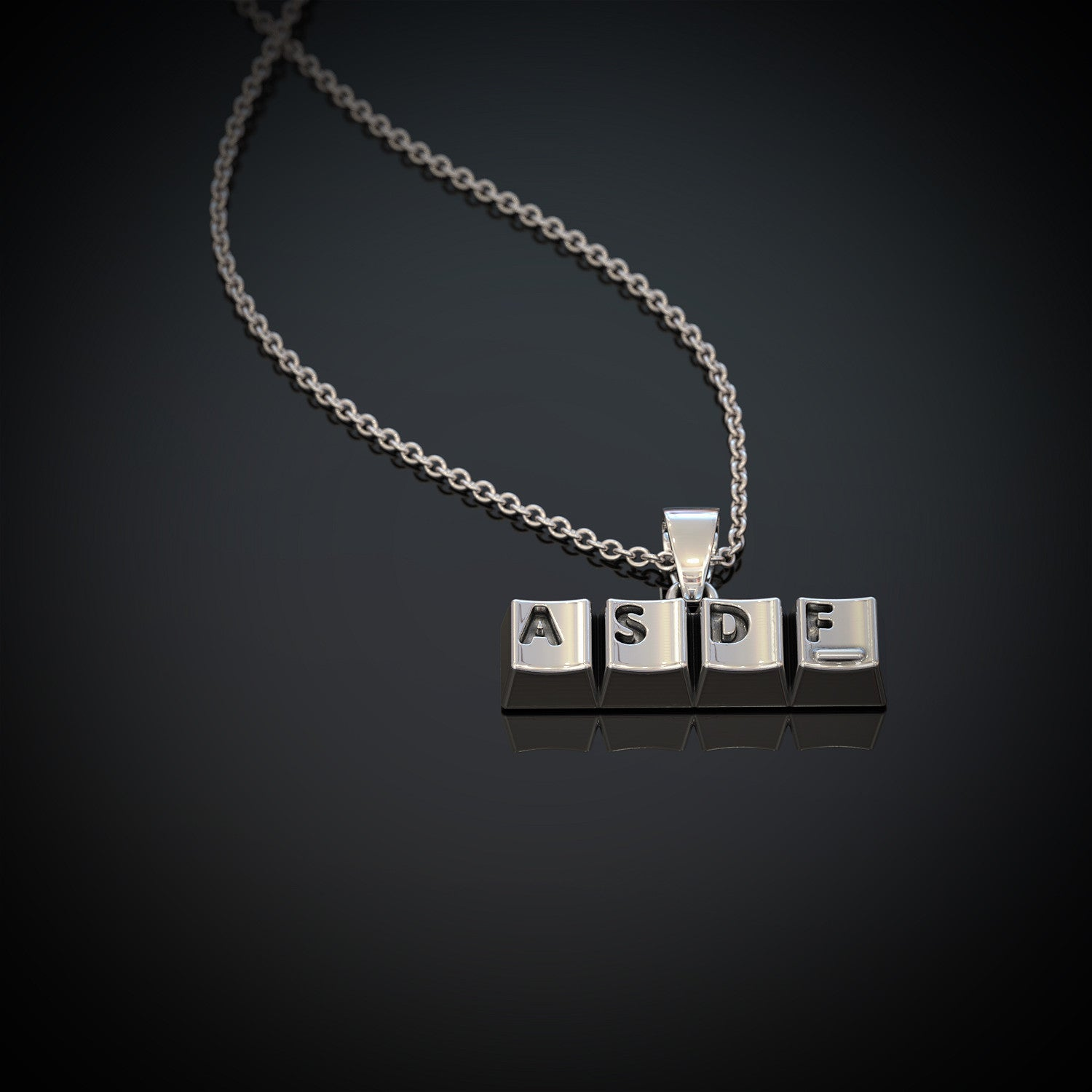 ASDF Love Necklace