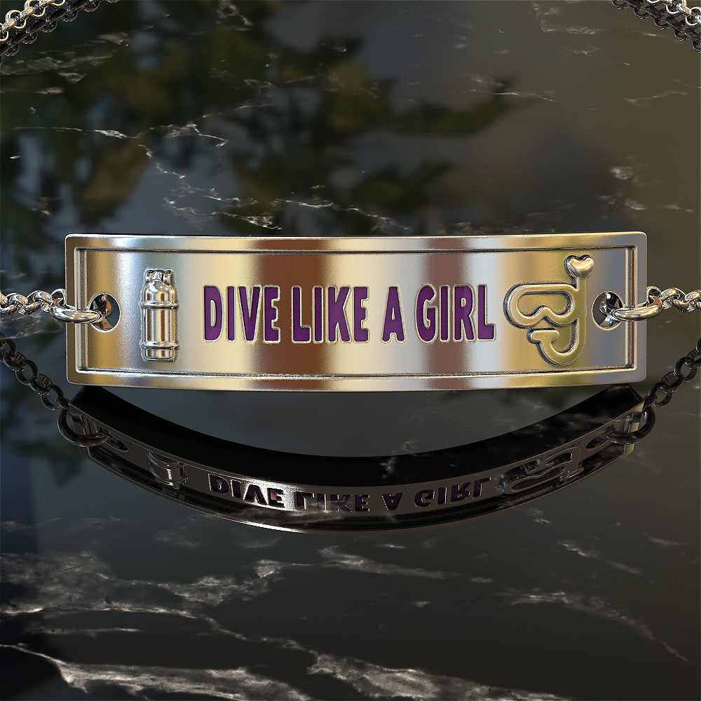 Dive Like A Girl Bracelet