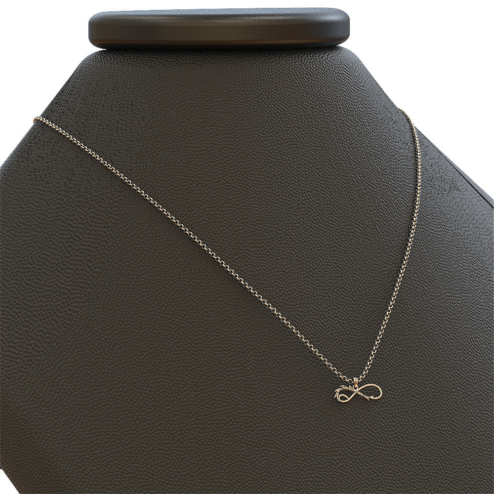 Infinity Love to Hunt and Fish Necklace