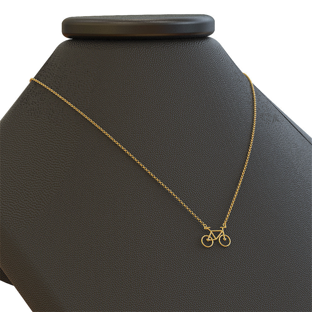 Cyclist Love - Necklace