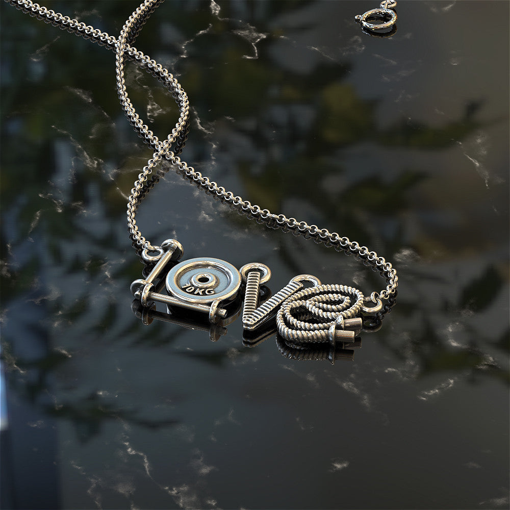 LOVE Cross Fit Necklace