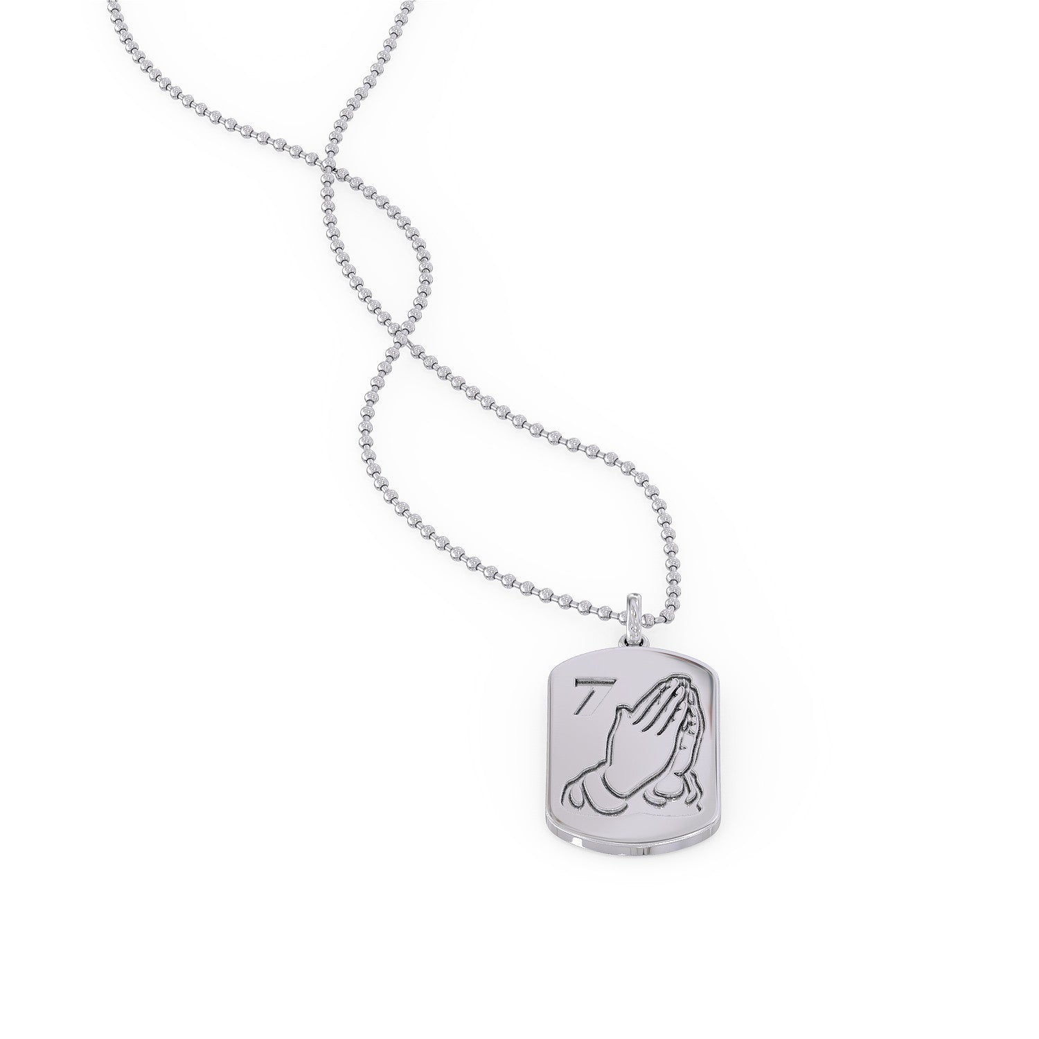 7God Dog Tag Necklace - VERY LIMITED NUMBERS