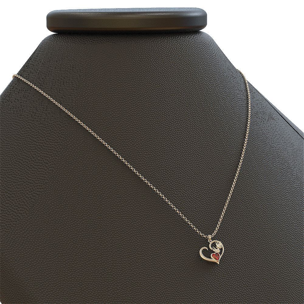 Massage Therapist Birthstone Necklace