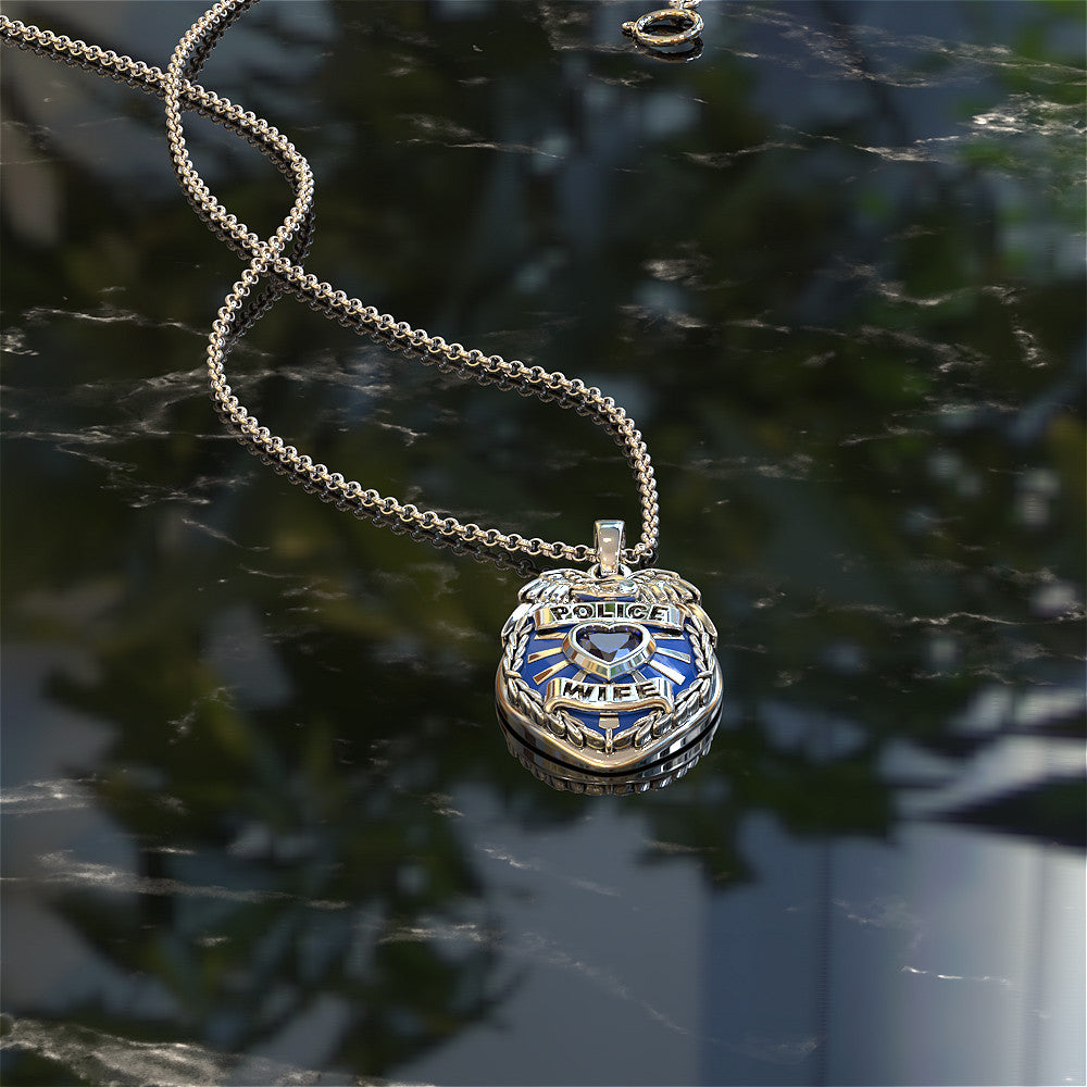 Police Wife Pendant