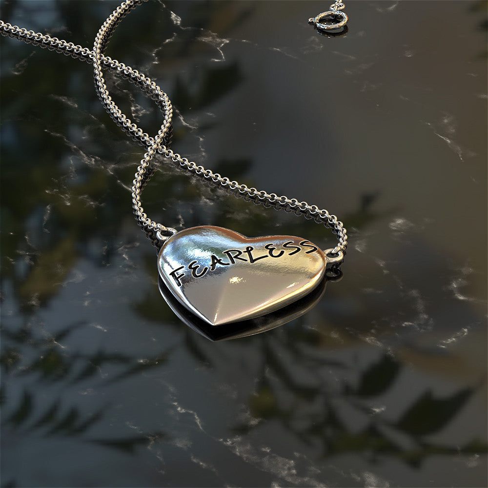 Living Fearlessly Necklace