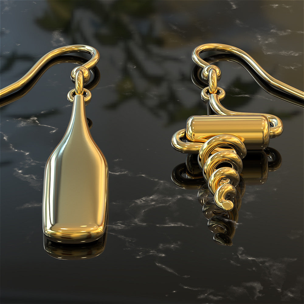 Mismatched Wine Earrings - STRICTLY LIMITED EDITION
