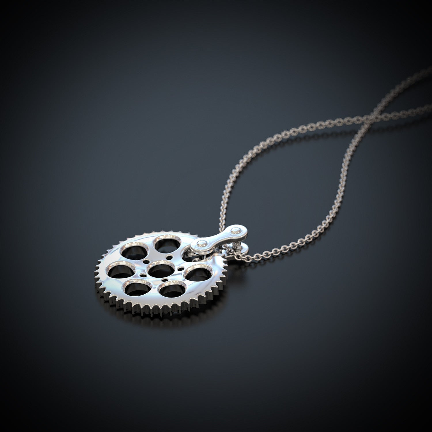 HD Cog Necklace - STRICTLY LIMITED EDITION