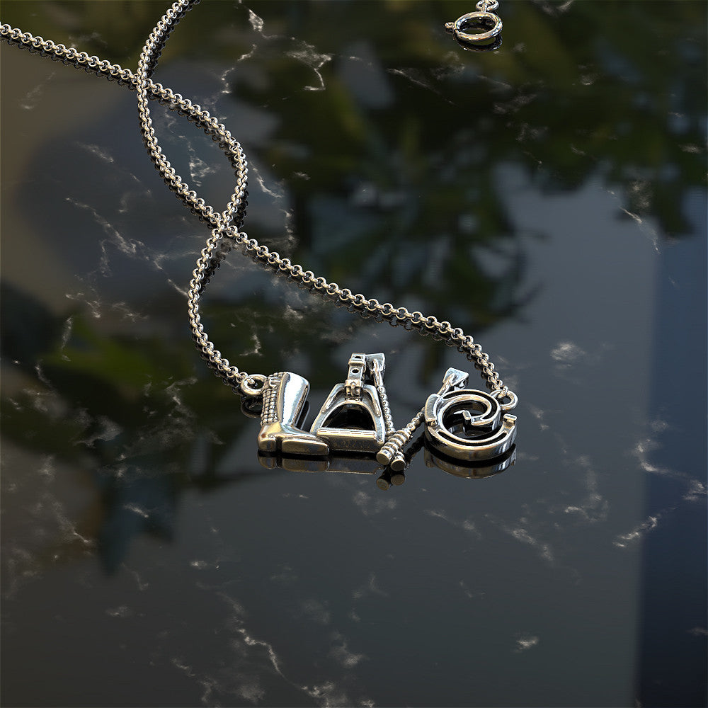 LOVE - Horse Rider Necklace - STRICTLY LIMITED EDITION