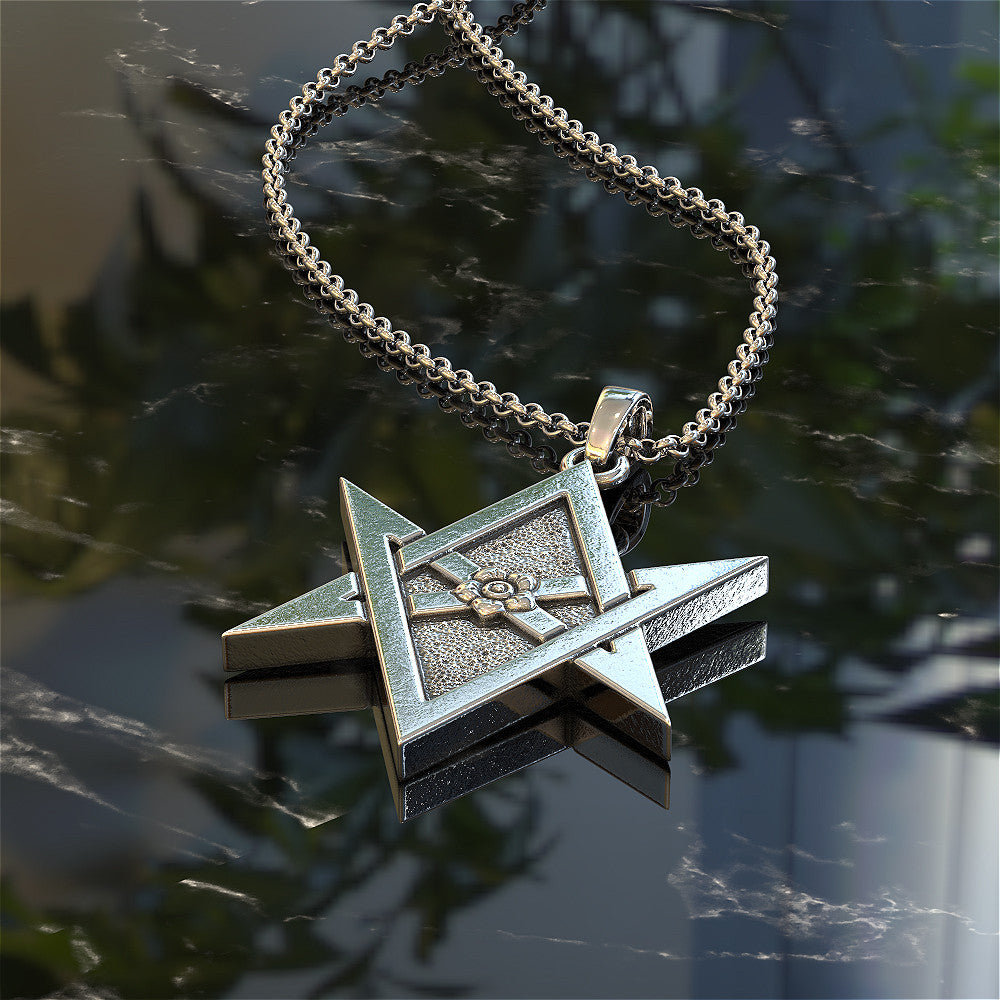 Unicurse Hexagram Pendant