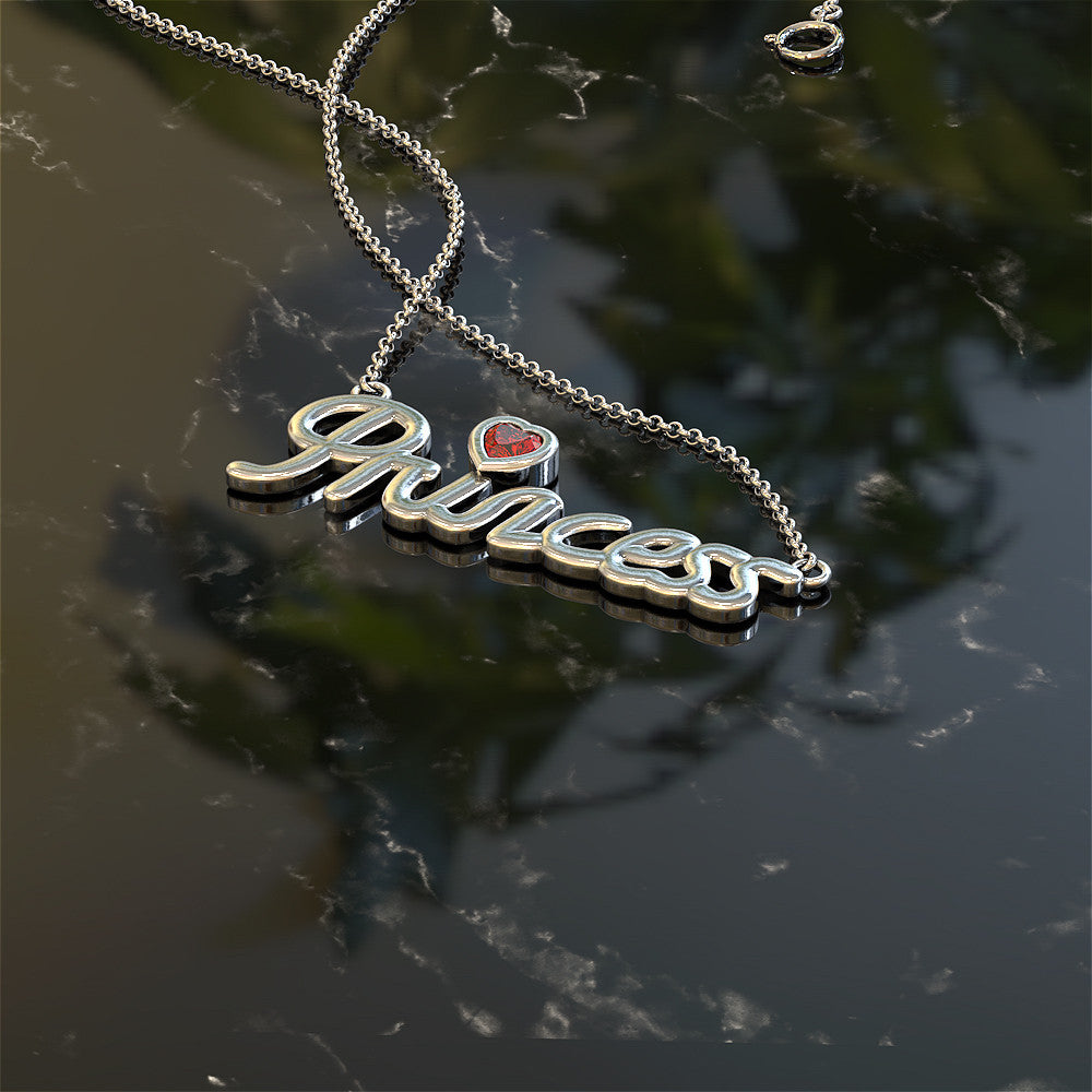 My Beautiful Princess Necklace