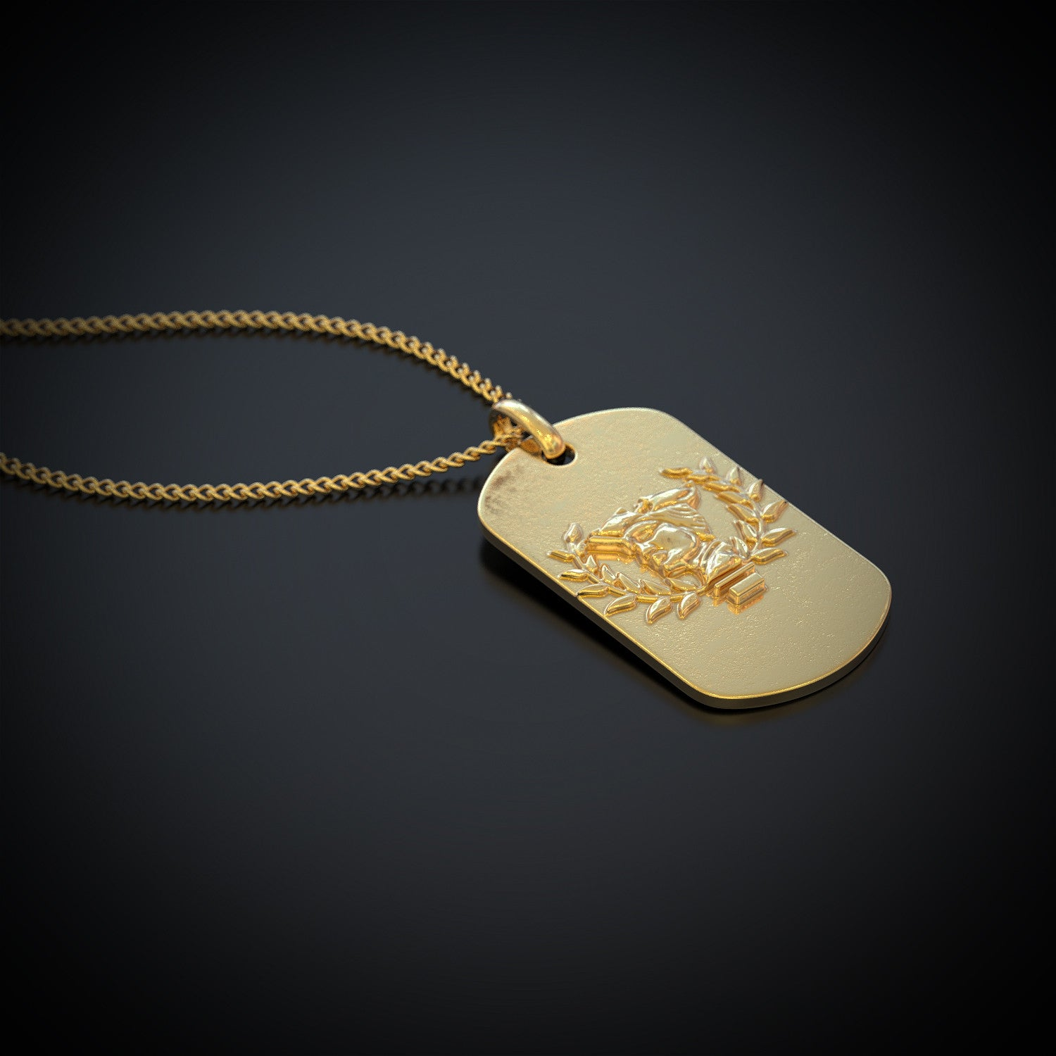 United States Army Reserve Dog Tag