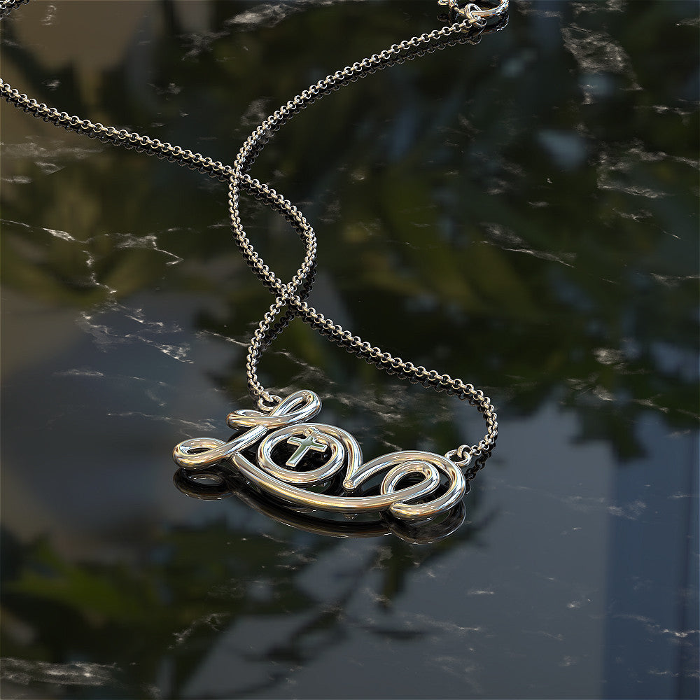 Christian Love Necklace