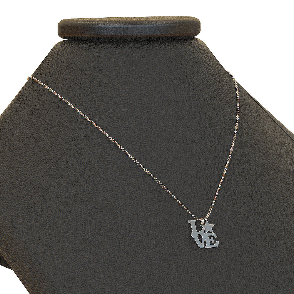 Love Sheriff Necklace