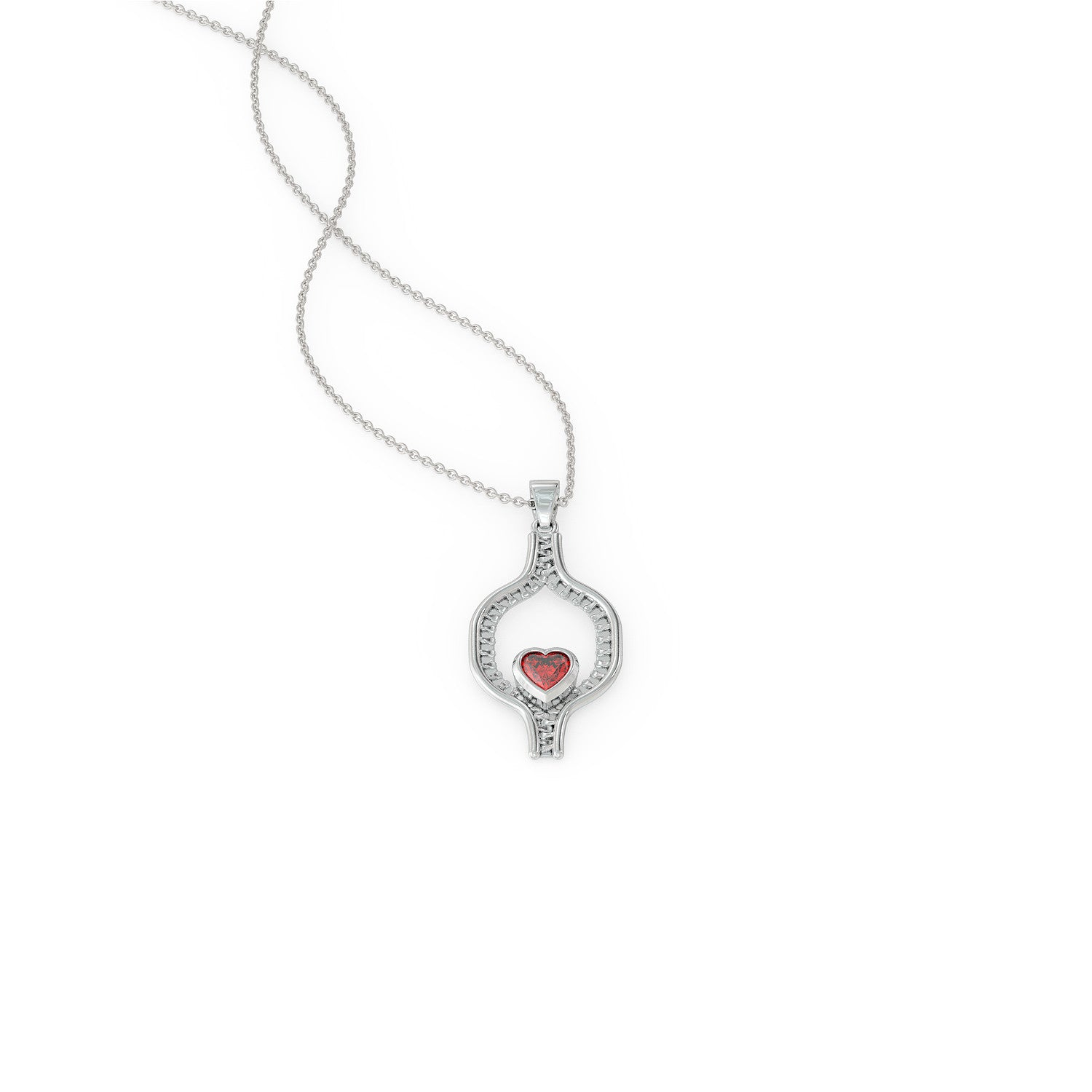 Zipper Sisters Necklace: Women with Congenital Heart Disease