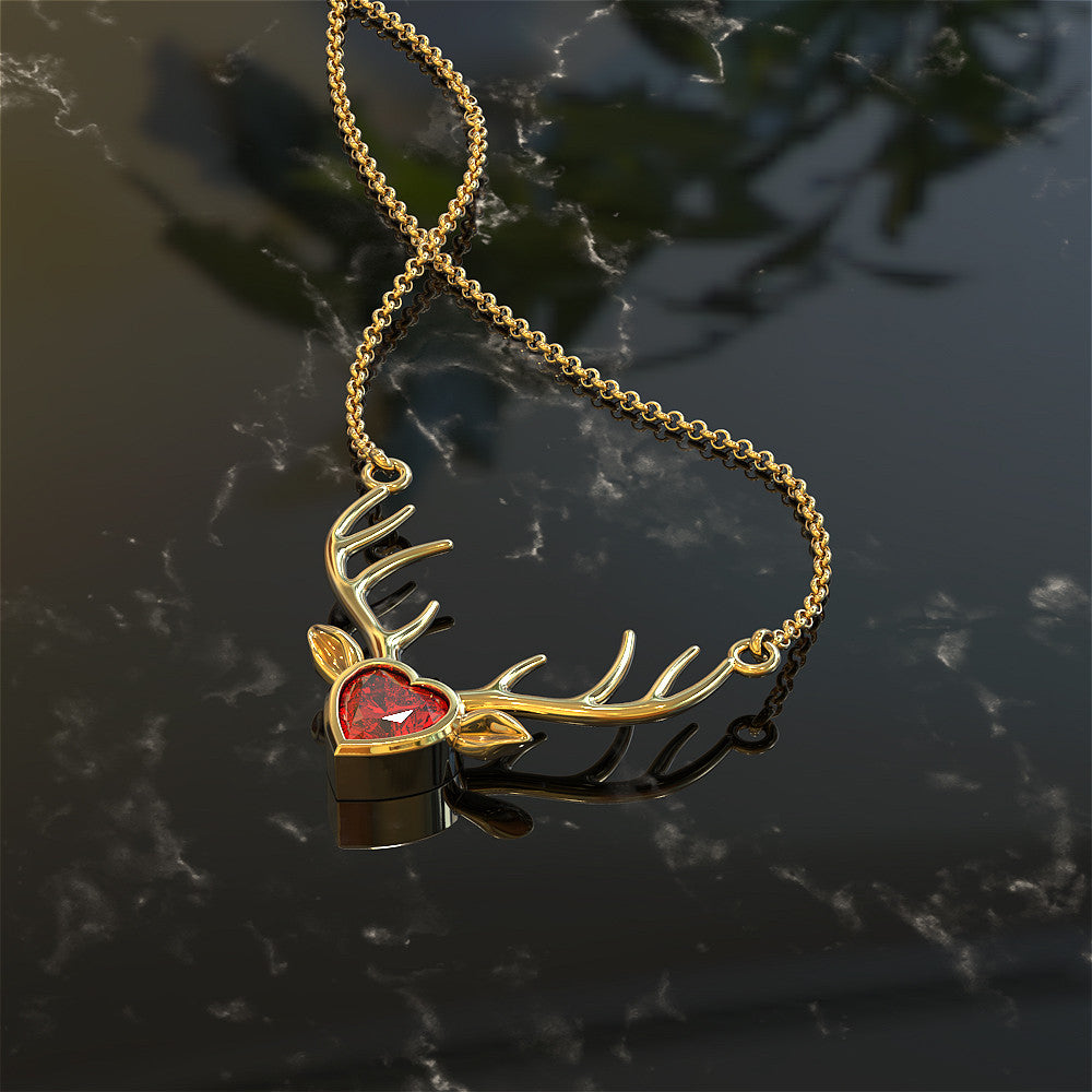 Love Deer Hunting Pendant - LIMITED RELEASE