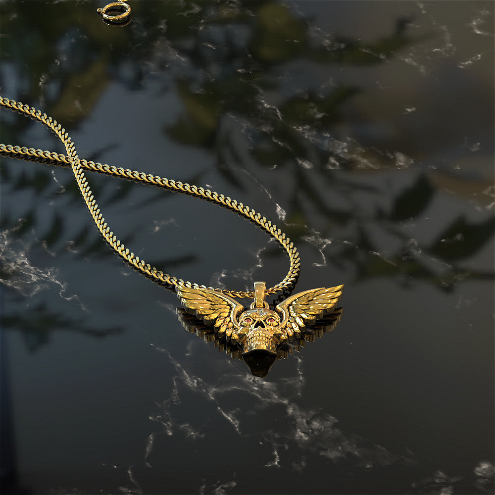 Skull Angel Necklace