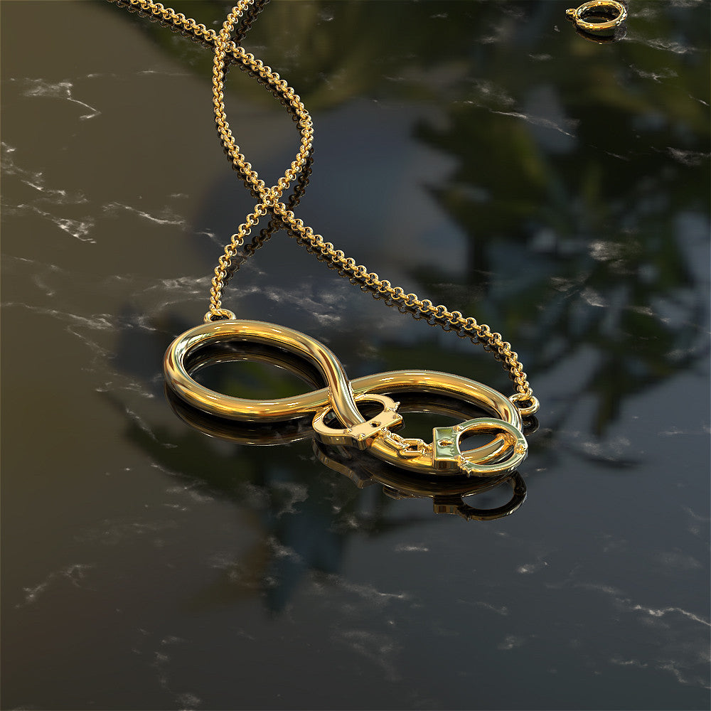 Infinity Handcuffs Necklace