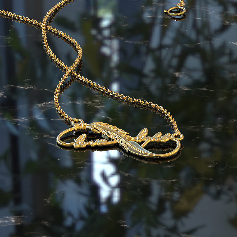 Infinite Love & Light Necklace
