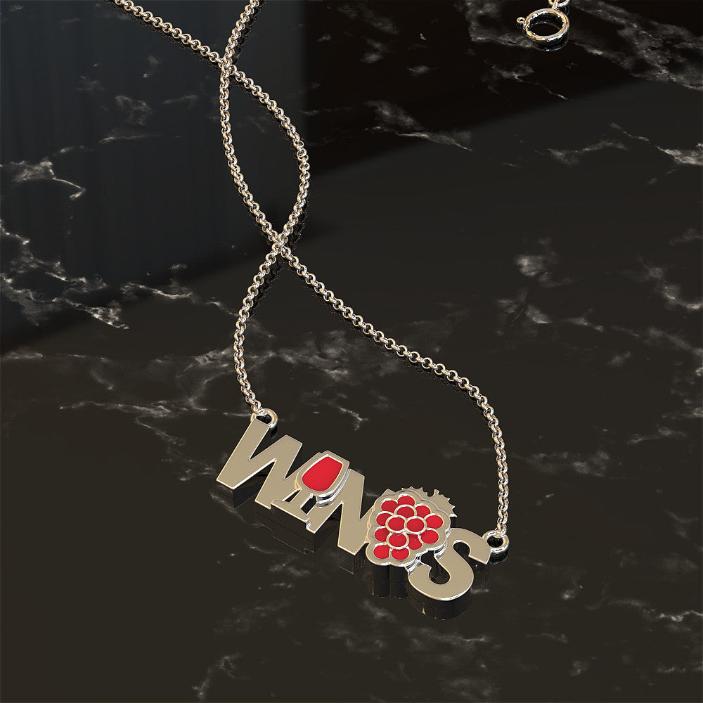 WINOS - Women In Need Of Sanity Necklace
