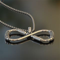 Truck Driver Infinity Pendant