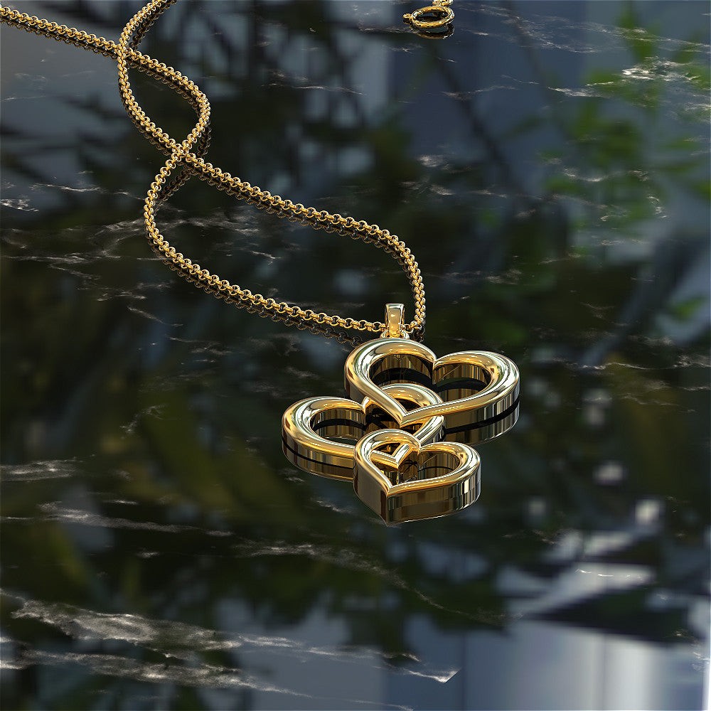 Hearts Together Pendant