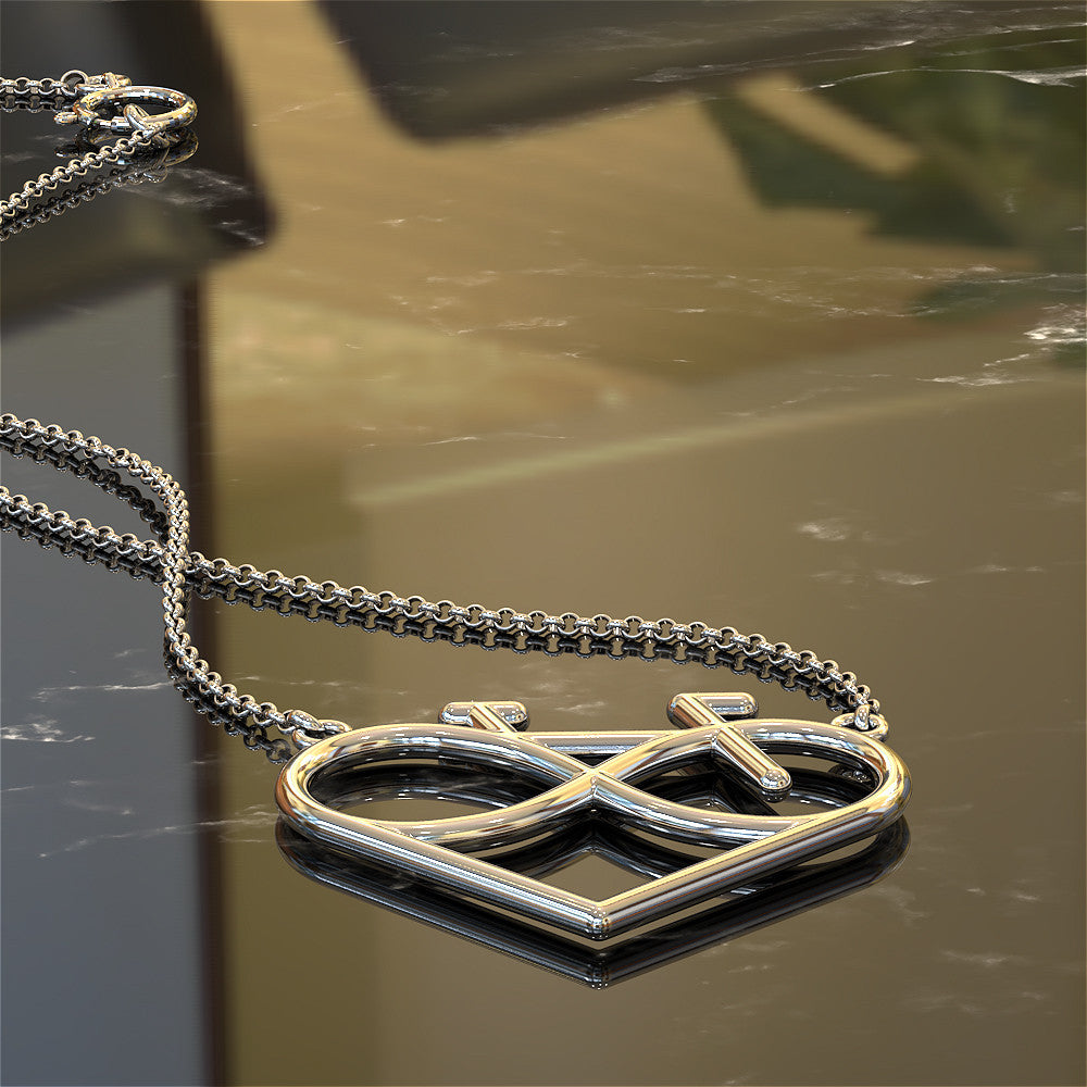Infinity Cycling Love Necklace
