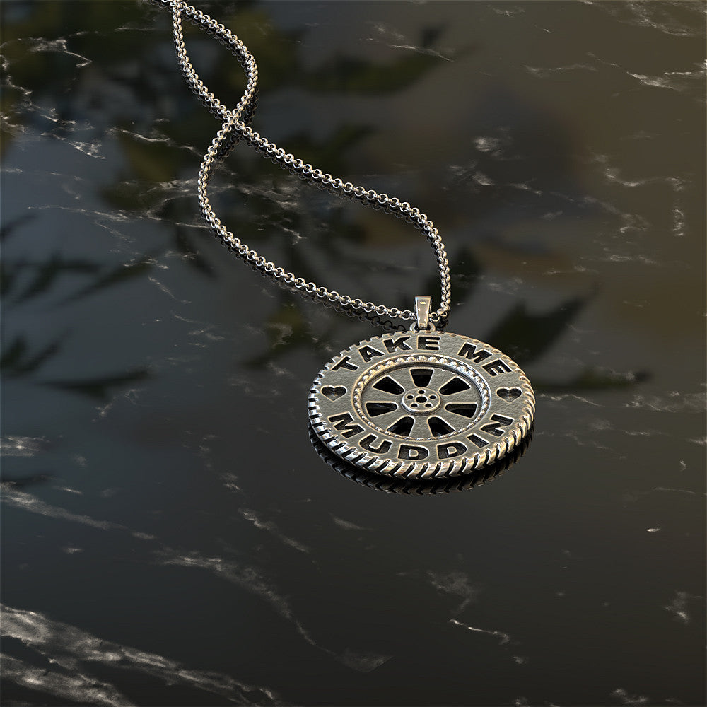 Take Me Mudding Necklace