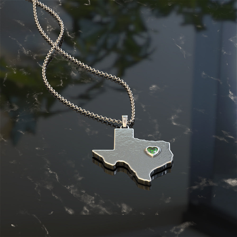 Texas Love Necklace