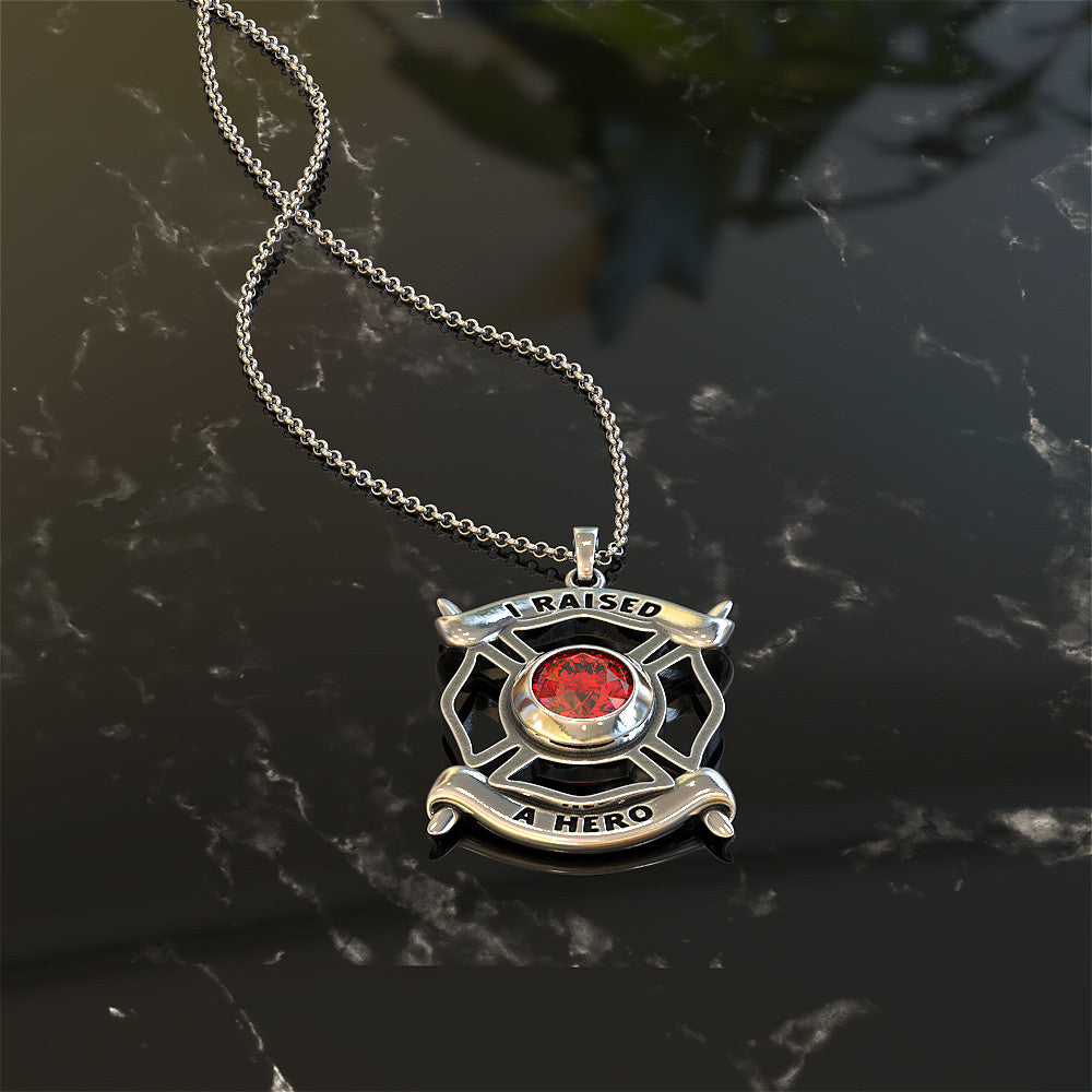 I Raised a Hero Necklace