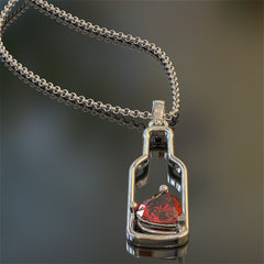 Wine Bottle Pendant - STRICTLY LMITED EDITION