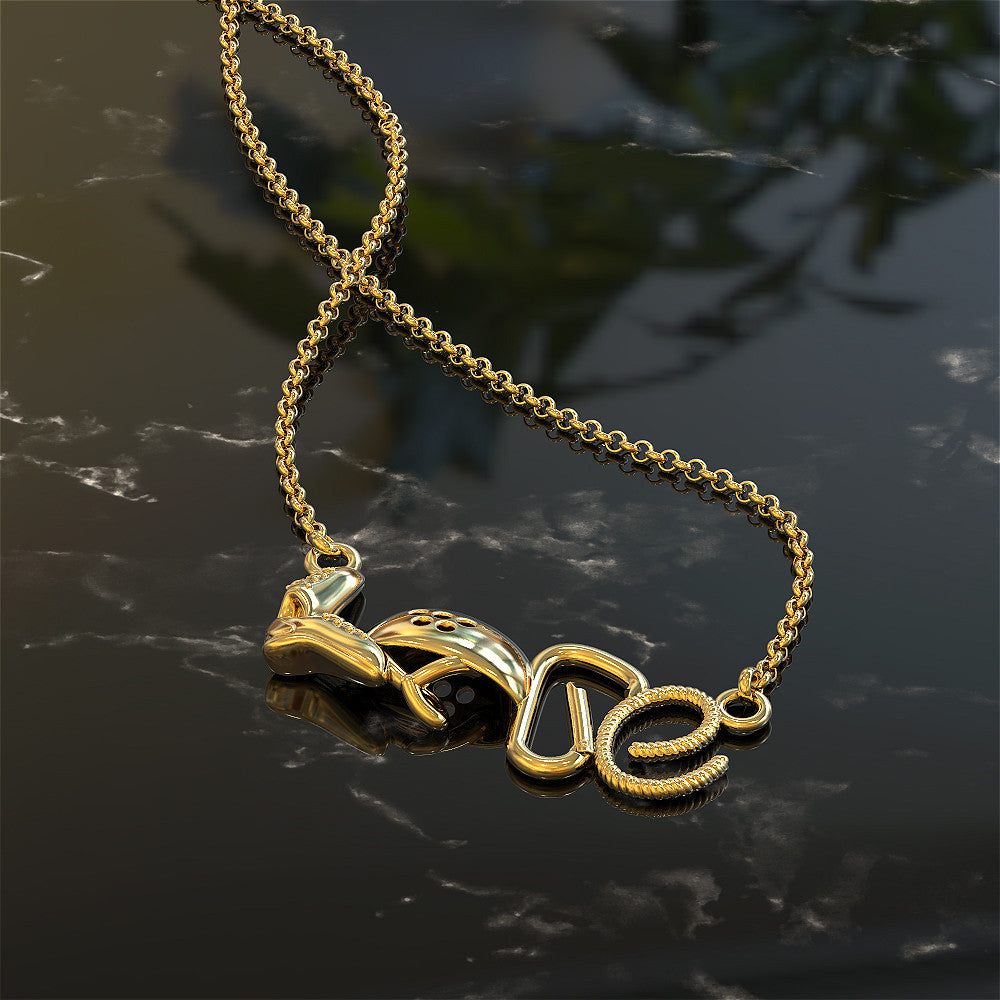 Love Climbing Necklace