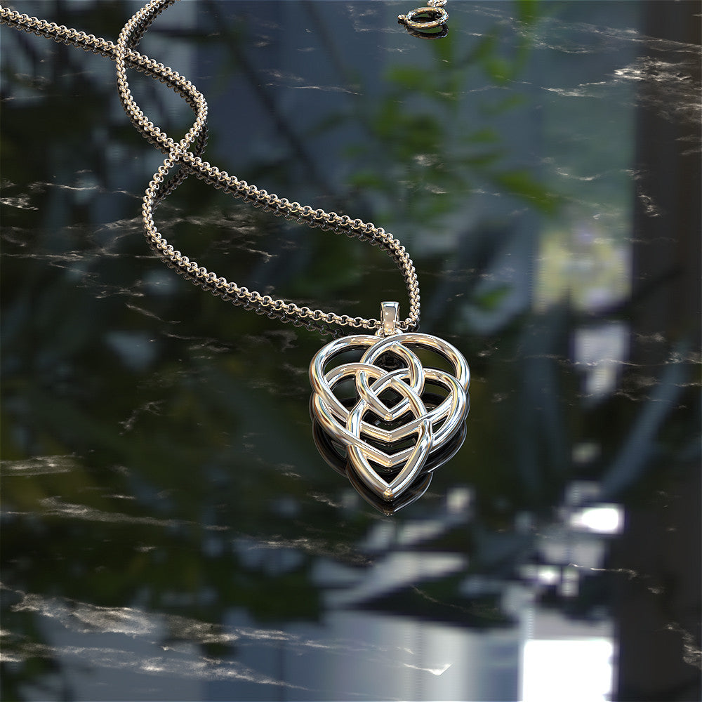 necklace fullxfull il heart com celtic products handmado knot motherhood