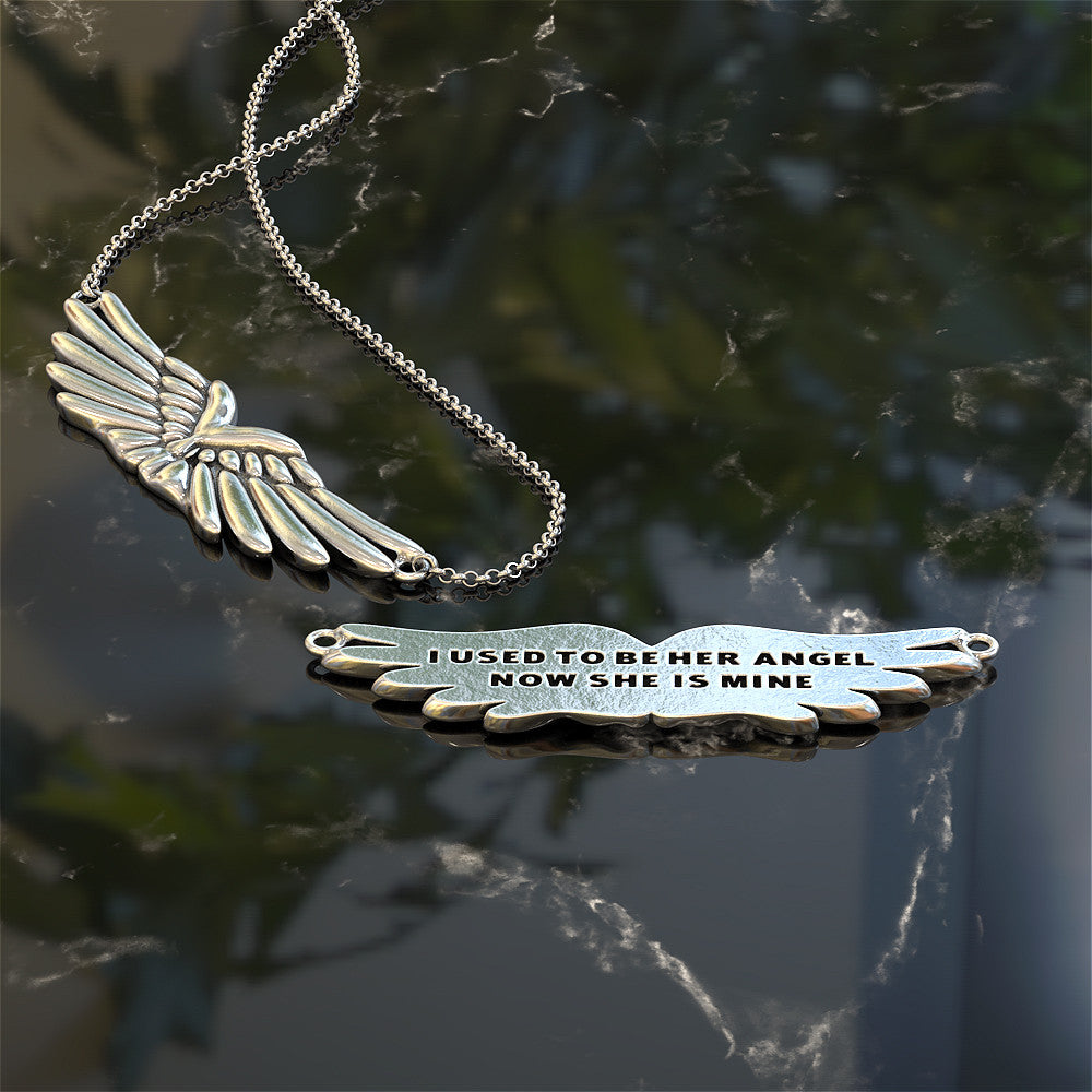 Angel Mom Necklace